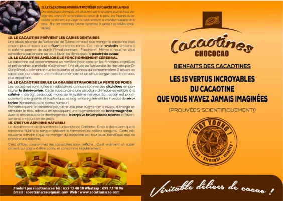 cacaotines chococao